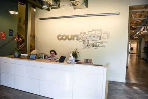 front desk me coursera office tour ideas inspiration for your startup