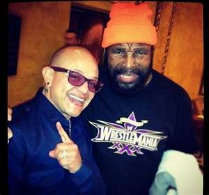 Photo of Mr. T & an Unmasked Rey Mysterio, CM Punk Spotted ...