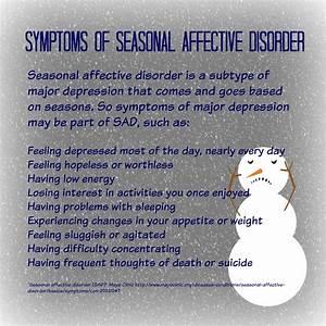 Seasonal Depres... Sad Disorder Quotes