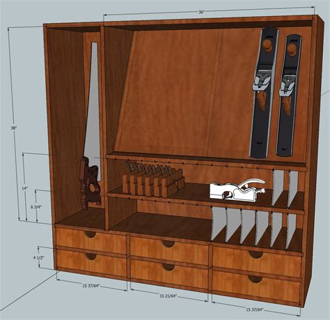 hand tool cabinet mcglynn  making