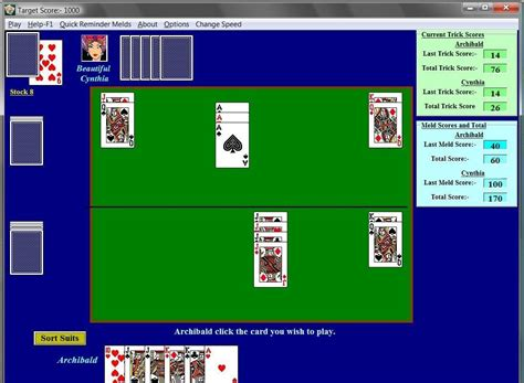 pinochle free games download