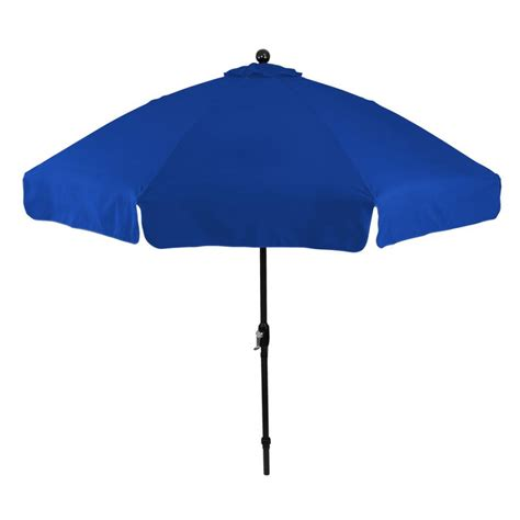 personalized royal blue 9 ft x 8 panel patio umbrellas