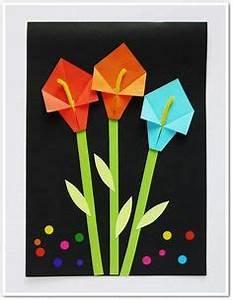 Fröbelstern Basteln Anfänger : einfache origami tulpe falten mit kindern schule pinterest tulpe falten origami tulpe und ~ Eleganceandgraceweddings.com Haus und Dekorationen