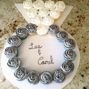 25 best ideas about engagement party cupcakes on With wedding ring cupcakes