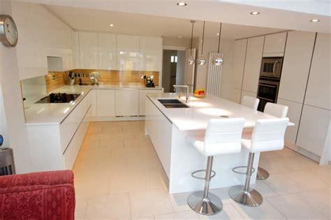 modern kitchen islands with seating kitchen island with seating area modern kitchen london by lwk kitchens london