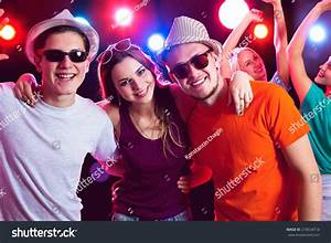 Young People Having Fun Party Stock Photo 218534716 ...