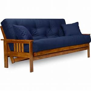 stanford futon set full size futon frame with mattress With sofa bed with extra thick mattress