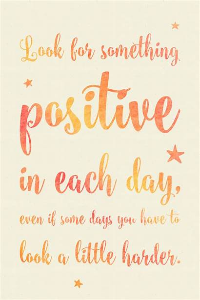Positive Quotes Something Each Motivational Printable Inspirational