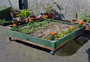 Wheeled Pallet Planter   Diy Instructions
