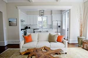 Amerikanische Küche Einrichtung : modernes wohnzimmer einrichten wohn und k chenraum kombinieren ~ Markanthonyermac.com Haus und Dekorationen