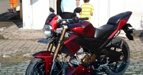 Vixion Simple Modification by And Modifikasi Syndicate Vixion Simple Rear Custom