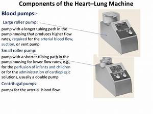 Heart U2013lung Machine