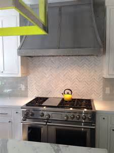 herringbone kitchen backsplash marble herringbone backsplash contemporary kitchen evars and