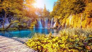 Plitvice, Lakes, National, Park, Croatia, Desktop, Hd, Wallpaper, For, Pc, Tablet, And, Mobile