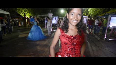 Vestidos de 15 Valeria Jaruffe santa marta - YouTube