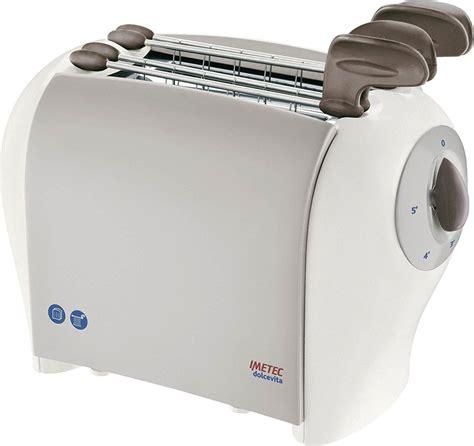 imetec tostapane imetec tostapane 2 fette potenza 500 watt 5 livelli di