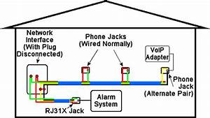 Electric Work  Phone Wiring Diagram  1