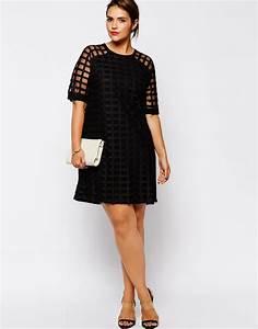 robe pour femme ronde une robe de cocktail With robe pour les rondes