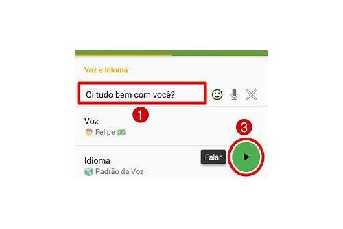 baixar de texto de voz do google play