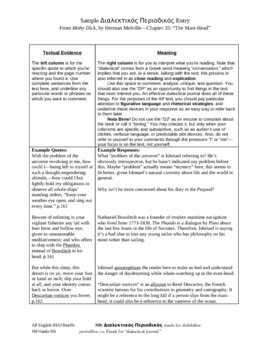 Dialectical Journal for AP English by jokeeffe | TpT