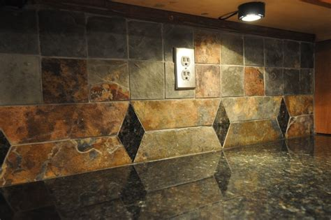 granite kitchen backsplash uba tuba granite countertop and tile backsplash eclectic indianapolis by supreme surface inc