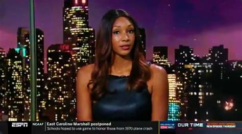 ESPN's Maria Taylor Recalled Her FBI Agent Father Telling ...
