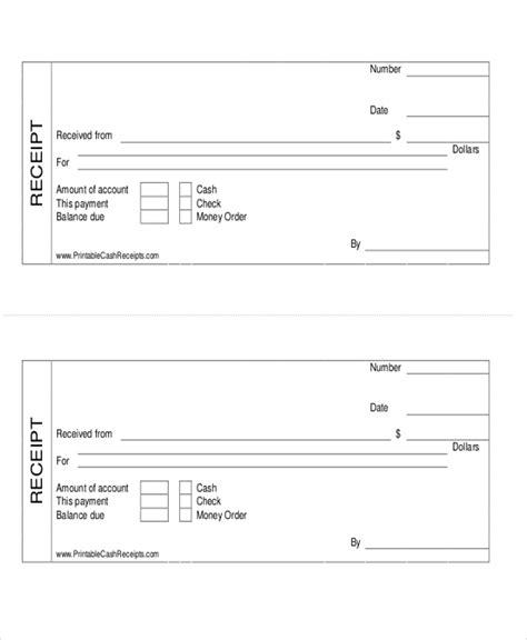 examples  cash receipts image cash payment receipt