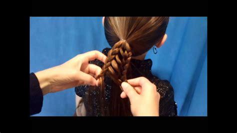 Stripe Braid Ponytail, Back To School Hairstyles