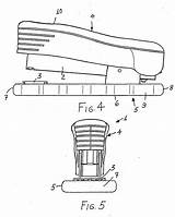 Stapler Drawing Patents sketch template