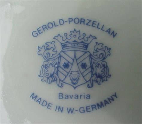 Porzellan Made In Germany made in germany porcelain marks images