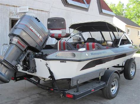 Used Ranger Bass Boats For Sale In Wisconsin by Used 1993 Ranger Boats 397v For Sale In Amherst Wisconsin