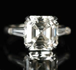 5 Carat Emerald Cut Diamond Ring