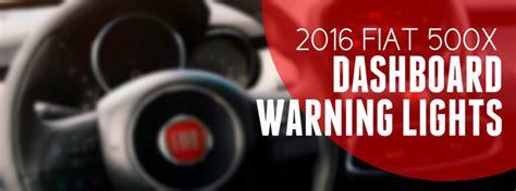 fiat  dashboard warning lights