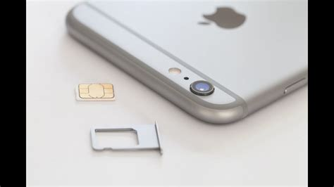It remains to turn on the smartphone. iPhone 6 / 6S PLUS HOW TO: Insert / Remove a SIM Card | Doovi