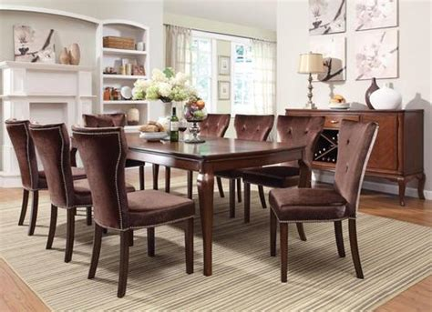 acme furniture kingston 9 formal dining table and