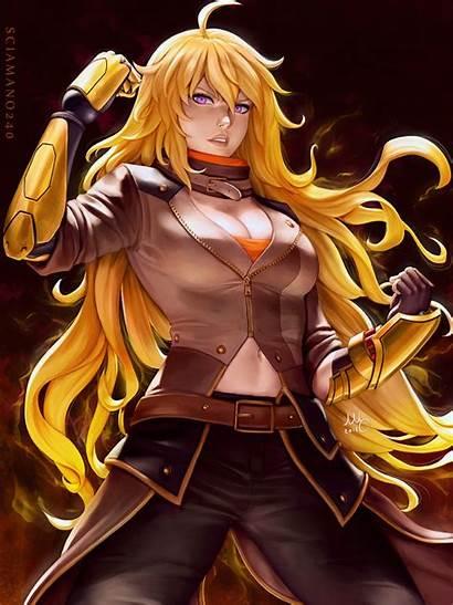 Rwby Yang Xiao Sciamano240 Fanart Deviantart Anime