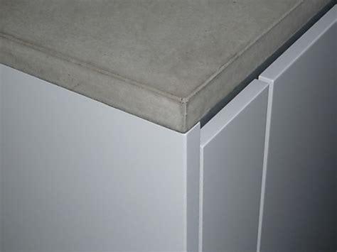 betonarbeitsplatten pro und contra beton fuer die kueche