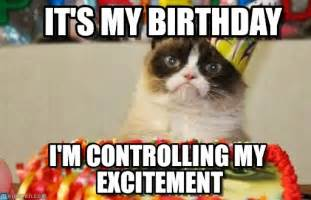 grumpy cat birthday meme displaying 20 images for