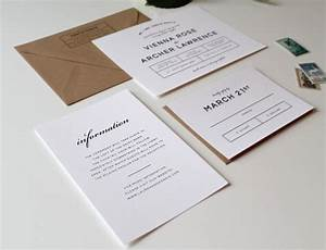 Modern wedding invitations tied two for Modern wedding invitations 2016
