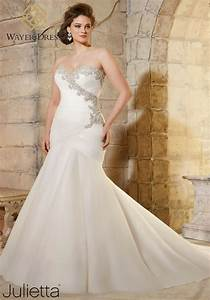 Designer plus size wedding dresses mermaid style for Plus size wedding dress designers