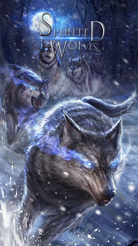 Anime Wolf Wallpaper Android brisk wolf live wallpaper android live wallpapers from