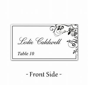 49 best images about place card on pinterest wedding for Table placement cards templates