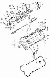 Porsche Cayenne Gasket Camshaft Actuator  Throttle Control