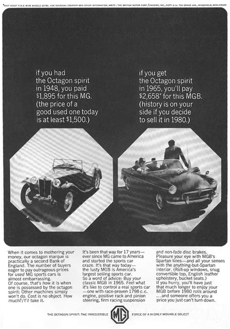 Vintage British Car Magazine Ads
