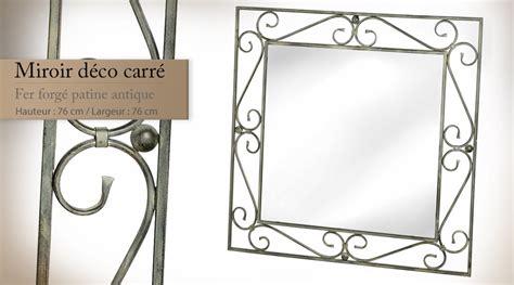 miroir en fer forge miroir d 233 co en fer forg 233