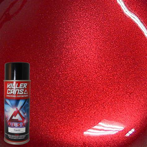 Kitchen Ceiling Fans Ideas by Alsa Refinish 12 Oz Candy Apple Red Killer Cans Spray