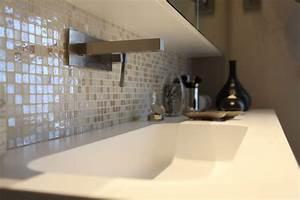 Credence Lavabo Salle De Bain : une salle de bains zen inspiration bain ~ Dode.kayakingforconservation.com Idées de Décoration