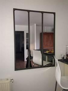 Miroir Mural Triptyque Dco Loft Industrielle Pib