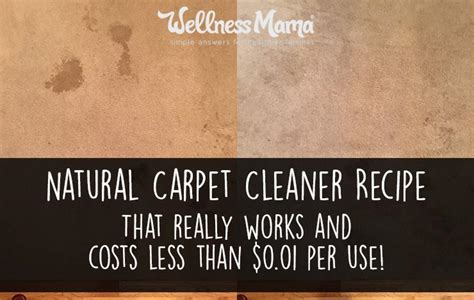 Natural Rug Cleaner Recipe by Natural Carpet Cleaner Recipe Wellness Mama