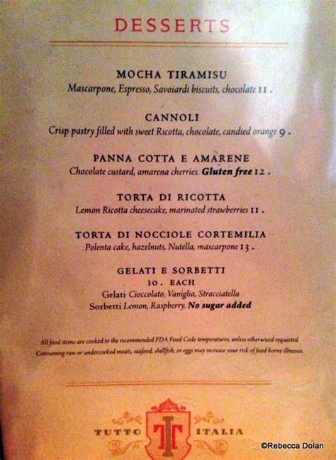 review tutto italia ristorante in epcot s italy pavilion
